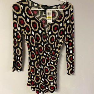 NWT woman's INC  blouse size Med